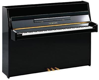 piano droit yamaha b1 noir brillant france pianos. Black Bedroom Furniture Sets. Home Design Ideas