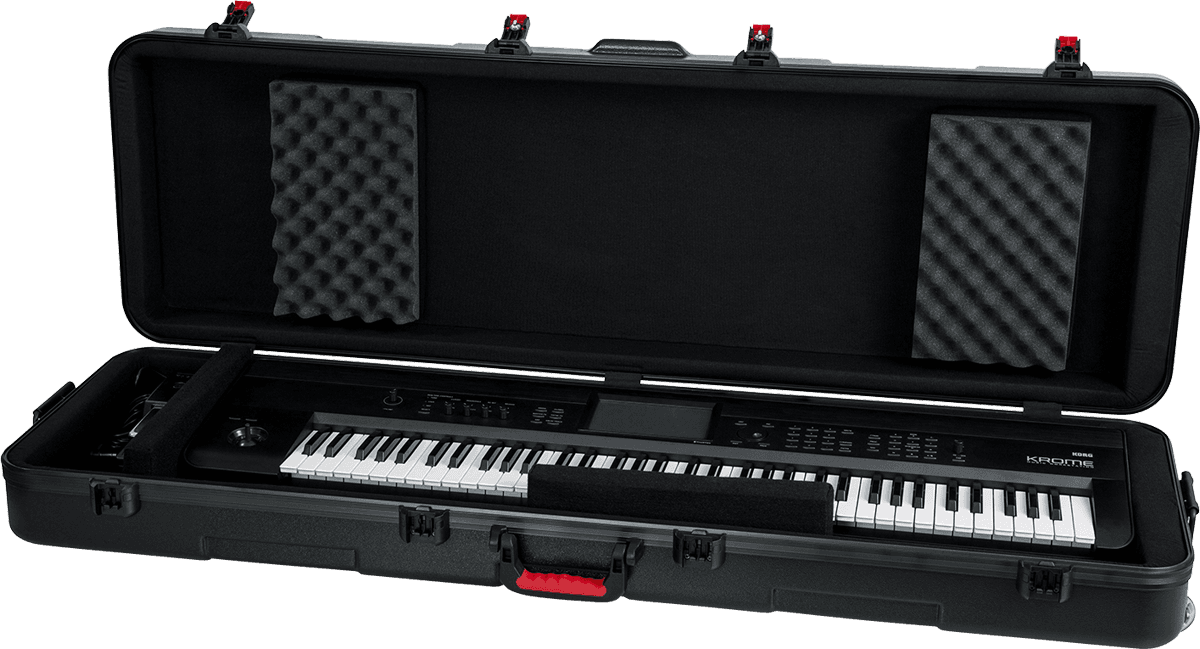 Flight case piano Slim polyéthylène GTSA-KEY88SL