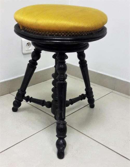 tabouret ancien france pianos. Black Bedroom Furniture Sets. Home Design Ideas