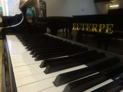 Piano 1/4 queue EUTERPE 169 Noir brillant
