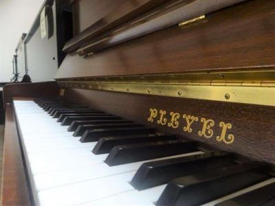 Piano droit d'occasion PLEYEL 114I Noyer