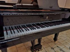 Piano à queue STEINWAY A 1.88m Noir brillant