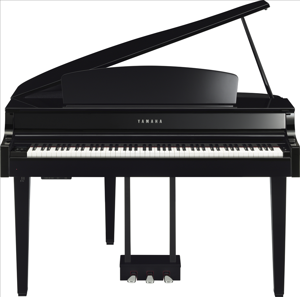 Piano à queue YAMAHA CLP665 Noir brillant