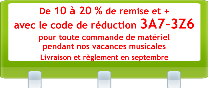 PROMOTION VACANCES MUSICALES