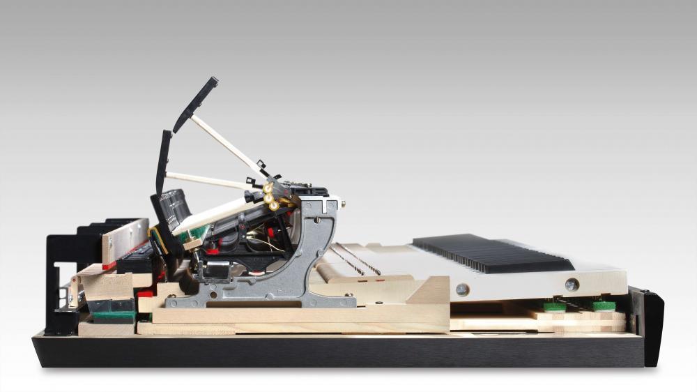 Mécanique du piano à queue hybride KAWAI NOVUS NV10