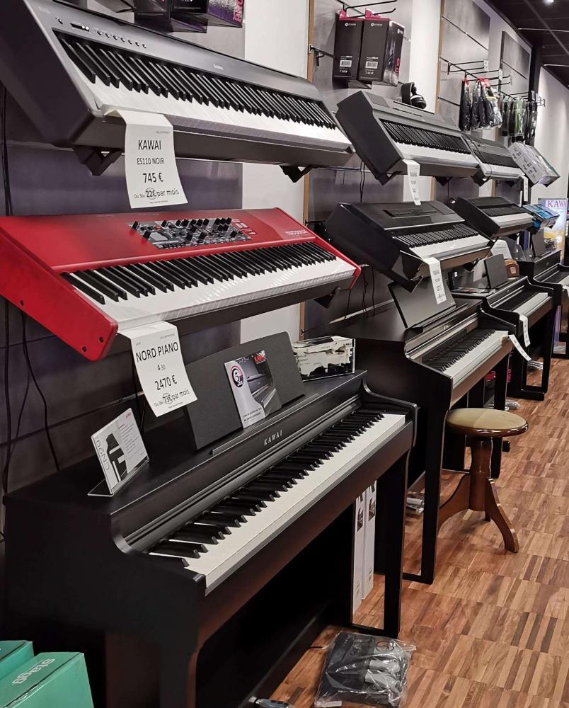 FRANCE PIANOS MARSEILLE : Exposition pianos numériques