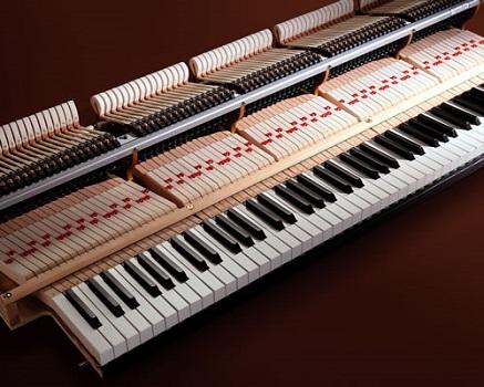 Mécanique de piano à queue en Carbone Millium III KAWAI