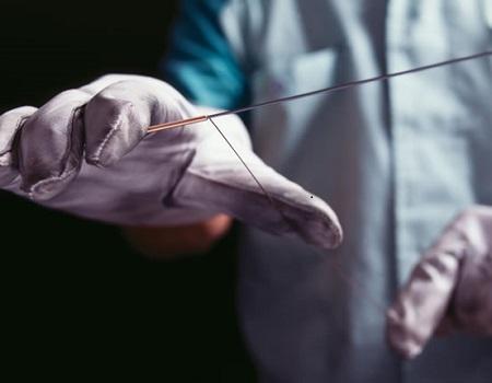 Filage manuel de corde basse KAWAI