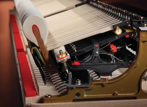 Chevalet de mécanique de piano KAWAI en Carbone