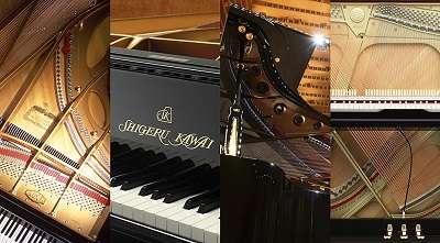 Sons de pianos de concert KAWAI