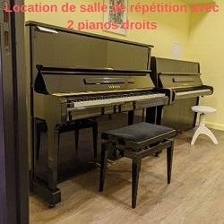 LOCATION DE SALLE PAVEC PIANOS
